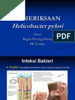 Pemeriksaan h Pylori (2012)