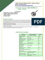 Rondelle Compression CFB-080