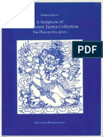 90906210 a Scripture of the Ancient Tantra Collection the Phur Pa Bcu Gnyis