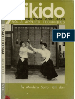 Traditional Aikido Sword Stick Vol III Applied Techniques