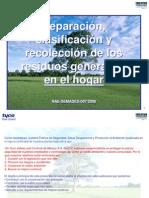 Clasificacion de Residuos Organicos