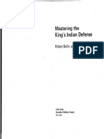Chess Bellin and Ponzetto - Mastering the Kings Indian Defense