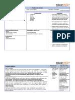 planificaciondeclaselenguajeycomunicaciontercerobasicofabulayafiche-130715035923-phpapp02