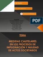 I Cap. Med.cautelares y Nulidad de Act Soc.