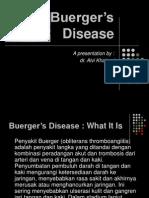 Buergers Disease Pp