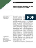 Diagnostic Usefulness of Segmental and Linear Enhancement in Dynamic Breast MRI