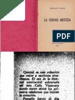 Kusch, Rodolfo - La Ciudad Mestiza