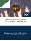 S.E.C. Inspector General's Semi-Annual Report to Congress