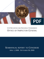 S.E.C. Inspector General's Semi-Annual Report to Congress