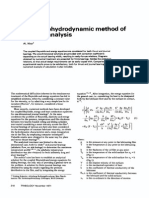 A Thermohydrodynamic Method Of