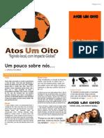 Jornal Atos Um Oito Ed. 1