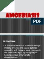 Report on Amoebiasis