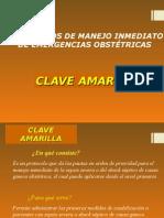 Clave Amarilla 11