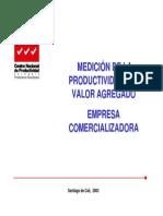 Caso - Empresa Comercializadora - Medición de La Productividad Del Valor Agregado