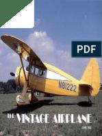 Vintage Airplane - Jun 1982