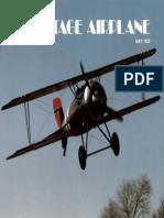 Vintage Airplane - May 1982