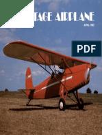 Vintage Airplane - Apr 1982