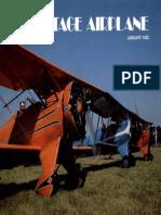 Vintage Airplane - Jan 1982