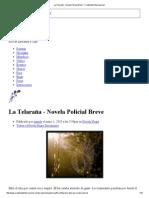 La Telaraña - Novela Policial Breve - Creatividad Internacional