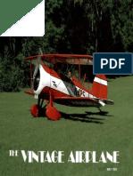 Vintage Airplane - May 1983