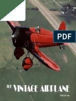 Vintage Airplane - Feb 1983