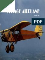 Vintage Airplane - Jan 1983