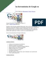 40 Usos de Las Herramientas de Google en Educación