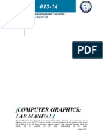 Lab Manual Final Computer Graphics