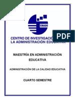 Administracion de La Calidad Educativa
