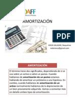 Amortización y Capitalización