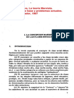 La Teoría Marxista, Categorías de Base y Problemas Actuales (a Cueva, 1987)