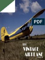 Vintage Airplane - Dec 1985