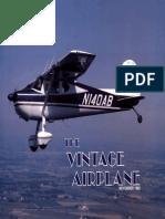 Vintage Airplane - Nov 1985