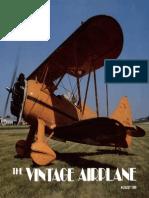 Vintage Airplane - Aug 1985