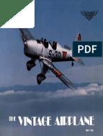 Vintage Airplane - May 1985