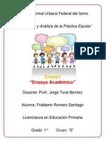 Ensayo Academico