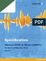 GCSE Music Spec 2012