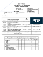 itec7400 structured-field experience