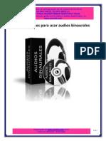 Instrucciones de Uso Audios Binaurales