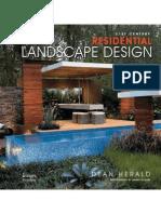 21st Century Residential Landscape Design (Art eBook)