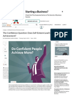 The Confidence Question_ Does Self-Esteem Lead to Greater Achievement