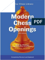 Modern Chess Openings 15 Edition MCO15