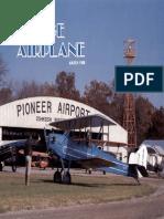 Vintage Airplane - Mar 1986