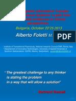Alberto Foletti - Water Conference 2013