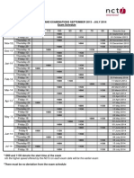 Shorthand Exam Schedule & Results Dates 2013-14 FINAL