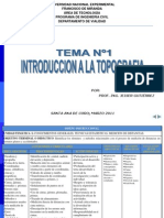 Tema1 Introduccionalatopografia 110313102250 Phpapp01