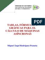 Tablas, Fórmulas y Gráficas Para El Cálculo de Máquinas Asíncronas