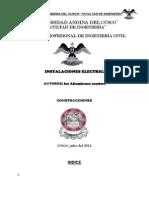 INSTALACIONES ELECTRICAS--CONSTRUCCIONES