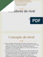 MEDIDORES DE NIVEL KLEIVER HERRERA