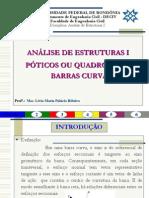 Análise de Estruturas I - Quadros Curvos